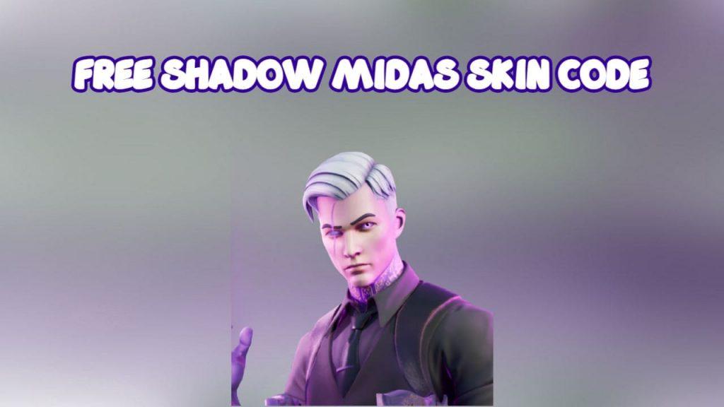 Free Shadow Midas Skin Code