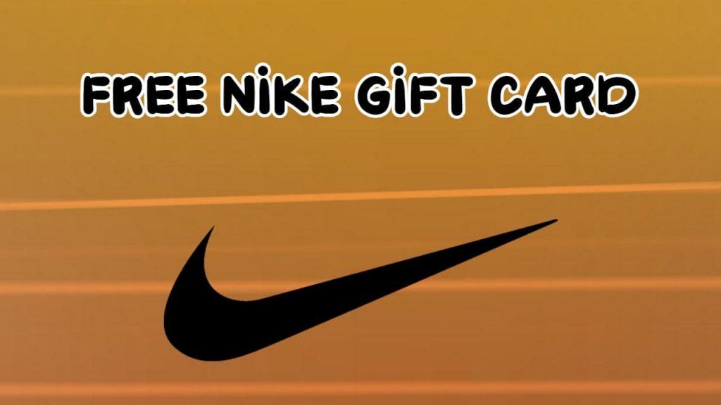 Nike Gift Card Online